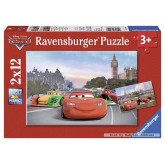 12 pcs - Cars: Lightning McQueen and his Friends - Disney Cars (by Ravensburger)