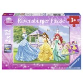 12 pcs - Princesses in the Garden - Disney (by Ravensburger)