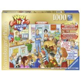 1000 pcs - At the vets - 4 - What If (by Ravensburger)