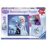 49 pcs - Frozen: Elsa, Anna and Olaf   - Disney (by Ravensburger)