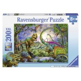200 pcs - Dinosaurs Kingdom - XXL (by Ravensburger)