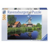 500 pcs - East Frisian windmill (by Ravensburger)