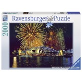 2000 pcs - Fireworks in Sydney (by Ravensburger)