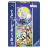 1000 pcs - Disney Castle - Disney (by Ravensburger)