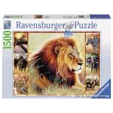 Jigsaw puzzle 1500 pcs - Animals of the Savannah (by Ravensburger)