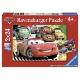 24 pcs - Cars 2: New Adventures - Disney Cars (by Ravensburger)