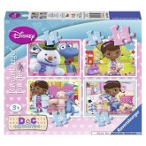 12 pcs - Doc McStuffins - Progressive (by Ravensburger)