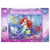 Jigsaw puzzle 150 pcs - Lovely Arielle - Disney (by Ravensburger)