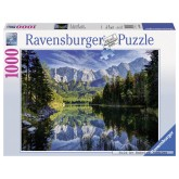 1000 pcs - Wetterstein Mountains and Zugspitze (by Ravensburger)