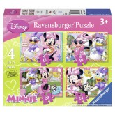 12 pcs - Minnie Mouse - Disney (by Ravensburger)