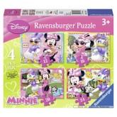 12 pcs - Minnie Mouse - Disney (by Ravensburger)