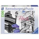 1500 pcs - Paris, mon amour - Black and White (by Ravensburger)