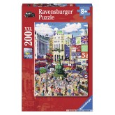 200 pcs - Piccadilly Circus - XXL (by Ravensburger)
