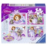 12 pcs - Sofia the First - Disney (by Ravensburger)