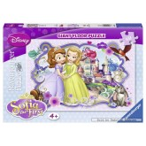 60 pcs - Sofia the First - Floor puzzles (by Ravensburger)