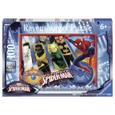 100 pcs - Spiderman and his team - Marvel (by Ravensburger)