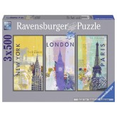 500 pcs - Cities (by Ravensburger)