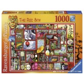Jigsaw puzzle 1000 pcs - The red box - Colin Thompson (by Ravensburger)