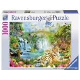 1000 pcs - Tiger Cave (by Ravensburger)