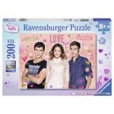 200 pcs - Violetta, Tomas & Leon - XXL (by Ravensburger)