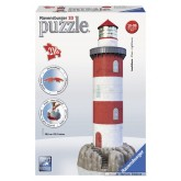 Jigsaw puzzle 216 pcs - Lighthouse - Puzzle 3D (by Ravensburger)