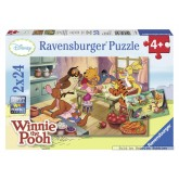 24 pcs - Party with Winnie the Pooh - Winnie The Pooh (by Ravensburger)