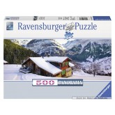 500 pcs - Winter Landscape - Panorama (by Ravensburger)