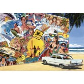 Jigsaw puzzle 500 pcs - Surfing (by Educa)