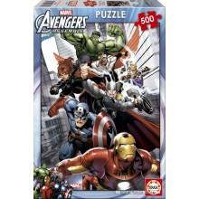 Jigsaw puzzle 500 pcs - Avengers Assemble - Marvel (by Educa)