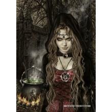 Jigsaw puzzle 1000 pcs - Witch - Victoria Frances (by Heye)