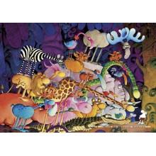 Jigsaw puzzle 1000 pcs - Tarzan - Mordillo (by Heye)