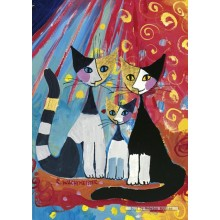 Jigsaw puzzle 1000 pcs - We Want To Be Together - Wachtmeister (by Heye)