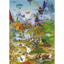 Jigsaw puzzle 1000 pcs - Idyll - Mordillo (by Heye)