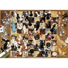 Jigsaw puzzle 1000 pcs - Black or White - Degano (by Heye)