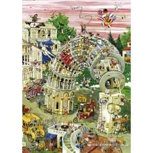 Jigsaw puzzle 1000 pcs - Pisa In Motion - Crisp (by Heye)