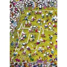 Jigsaw puzzle 1000 pcs - Crazy Football - Mordillo (by Heye)