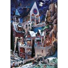 Jigsaw puzzle 2000 pcs - Castle of Horror - Loup (by Heye)