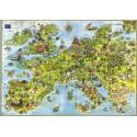 4000 pcs - United Dragons of Europe - Degano (by Heye)