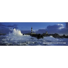 Jigsaw puzzle 1000 pcs - Jean Guichard - Lighthouse - Alexander von Humboldt (by Heye)