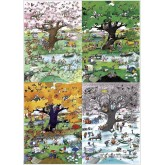 2000 pcs - 4 Seasons - Blachon (by Heye)