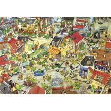 Jigsaw puzzle 1000 pcs - Dragontown - Degano (by Heye)