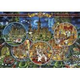 Jigsaw puzzle 2000 pcs - Crime Scene - Ryba (by Heye)