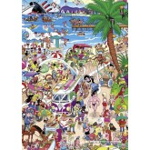 Jigsaw puzzle 1000 pcs - Boardwalk - Crisp (by Heye)