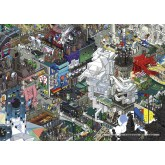 Jigsaw puzzle 1500 pcs - Paris - Eboy (by Heye)