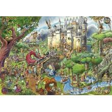 Jigsaw puzzle 1500 pcs - Fairy Tales - Prades (by Heye)
