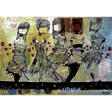 Jigsaw puzzle 1000 pcs - Girls - Aaron Kraten (by Heye)