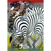 Jigsaw puzzle 1000 pcs - Zebra - Tinga Tinga (by Heye)