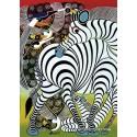 1000 pcs - Zebra - Tinga Tinga (by Heye)