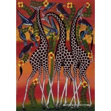 Jigsaw puzzle 1000 pcs - Giraffes - Tinga Tinga (by Heye)