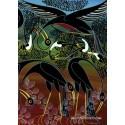 1000 pcs - Cranes - Tinga Tinga (by Heye)